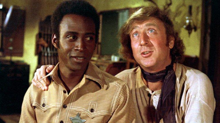 """13. Пламтящи седла (1974) - Чернокож става шериф в градче от Дивия Запад, населено само с бели с фамилия """"Джонсън"""". Хуморът с расови отенъци определено стои в основата на комедията на Мел Брукс. Имате свободно използване на думата """"негър"""", стереотипи за германците и индианците, плюс няколко гей шеги. Ако дори се проговори за подобен филм днес, врявата срещу него ще се чува от Луната."""