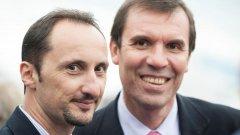 Данаилов (вдясно) се оттегля от поста осем месеца след като получи забрана да заема каквито и да е длъжности във ФИДЕ