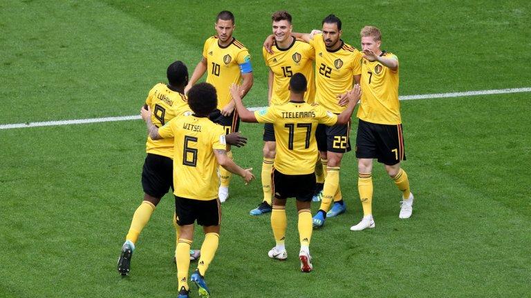 Белгия беше по-добрият отбор през цялото време и логично победи Англия за втори път на това първенство