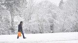 Вероятната снежна покривка ще е между 5 и 20 см