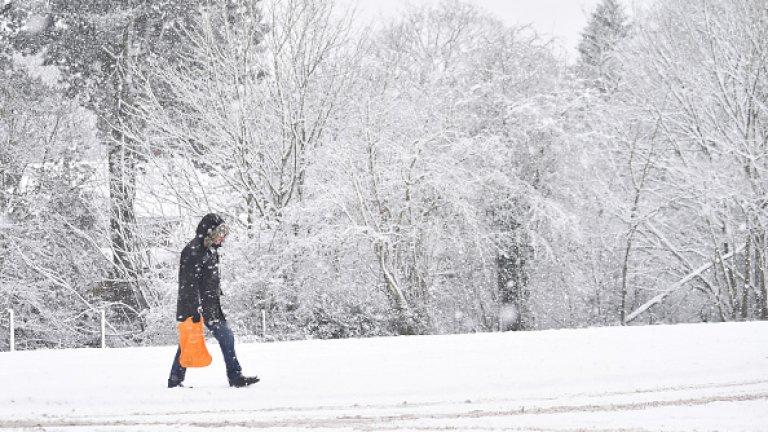 Обявиха жълт код за ниски температури в цялата страна