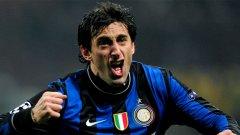 Диего Милито може да напусне Интер ако не получи увеличение на заплатата си