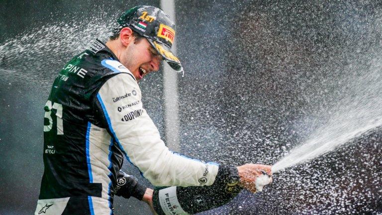 Голяма катастрофа и сензационен победител във Формула 1 (видео)
