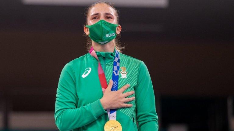 """Противно на """"поетата отговорност"""" финансирането на предолимпийската подготовка на първата ни олимпийска шампионка в Токио Ивет Горанова беше осигурено от община Плевен."""