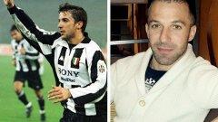 """Алесандро дел Пиеро (1993–2012) Алесандро дел Пиеро, прекараха почти две десетилетия в състава на """"старата госпожа"""". Обожаван от своите и дълбоко ценен от чуждите, едва ли има друг италиански футболист през последните 20-30 години, който да е уважаван колкото него на Апенините. Възпитаник на скромния Падова, Дел Пиери преминава в Ювентус през 1993 г. и остава безрезервно предан на клуба чак до 2012-а. С над 700 мача и близо 300 гола, Сандро е сред иконите на Юве. В края на кариерата си той игра два сезона в австралийския ФК Сидни, след което бе за кратко и в индийския Делхи Динамос."""