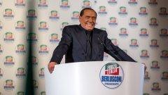 От екипа на Берлускони казаха, че състоянието му е стабилно