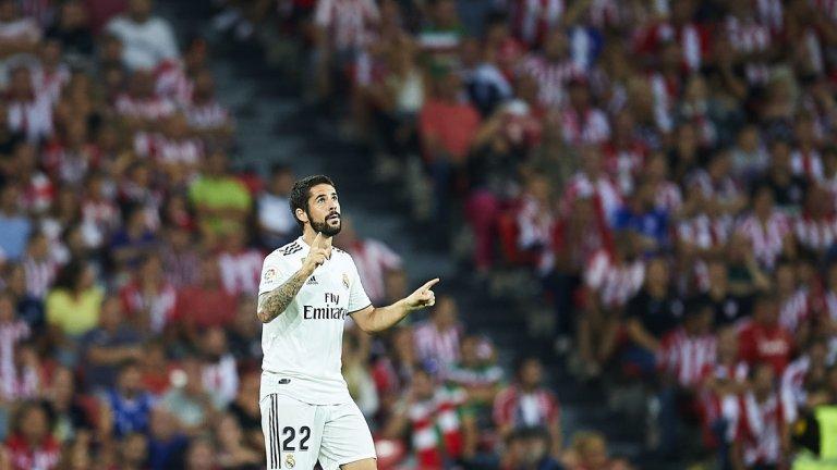 """Иско донесе точката на Реал, но """"Белия балет"""" не успя да стигне до пълен обрат"""