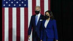 """Консерваторите в САЩ лансират опорната точка, че гласуването за Джо Байдън всъщност е гласуване за Камала Харис - """"най-левият кандидат в историята на страната"""""""