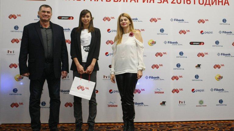 """Мирела Демирева стана """"Атлет на България"""" за 2016 г. в анкетата на Mtel"""