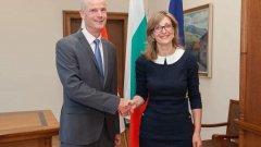 Външният министър Стеф Блок иска от страната ни напредък в борбата с корупция