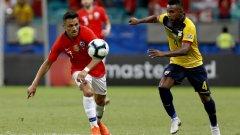 Санчес преоткри формата си в националния отбор