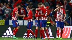 Отново брилянтен дефанзивен Атлетико скърши мечтата на Арсенал и Арсен Венгер за европейска слава