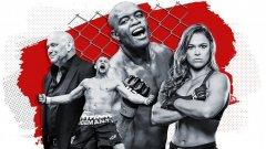 25-те най-влиятелни личности в 25-годишната история на UFC. Вижте ги в галерията...