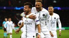 Хуан Бернат и Неймар отбелязаха головете, с които ПСЖ победи Ливърпул. Какво означава този резултат за съперниците в най-интересната група от Лигата?