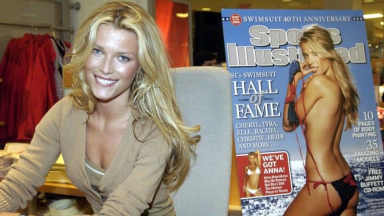 """Вероника Варекова Както се вижда от снимката, Варекова е била на корицата на Sports Illustrated. Тя е дефилирала и за Victoria's Secret, Ungaro и Chanel. Вероника е завършила специалност """"Арт дизайн"""" и дори е представяла пред публика свои произведения на изкуството."""