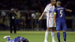 "Канаваро не е видял удара на Зидан на живо, а само е ""чул шума""."