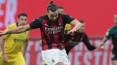 Златан - герой и грешник за Милан