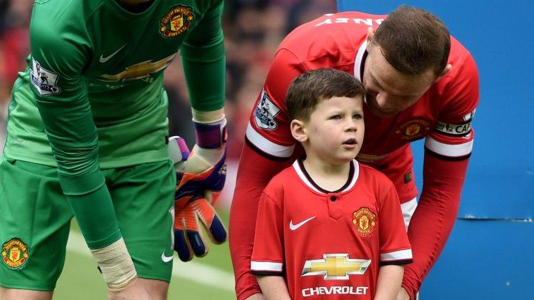 Синът на Рууни с хеттрик и три асистенции за Юнайтед