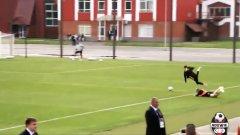 Де Бройне едва не осакати съотборник на тренировка (видео)