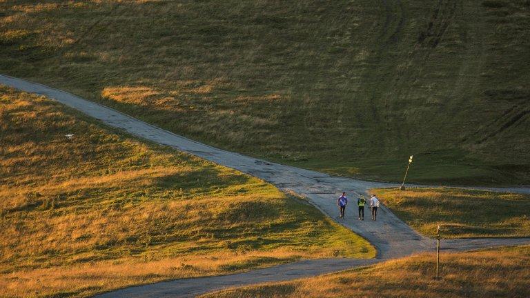 Мигове от едно 600-километрово бягане по билото на Стара планина