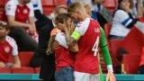 Сабрина на Ериксен - необикновената футболна съпруга