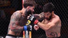 Разтърсващ нокаут със сирената на UFC 250 (видео)