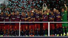 Барселона спечели най-великия финал за Суперкупата на УЕФА, ако не и като цяло в европейските клубни турнири. Изживейте отново тръпката от епичната победа с 5:4 на каталунците с галерията...