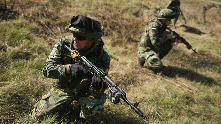 Един експеримент показва уязвимостта на армиите и обикновените войници в момента