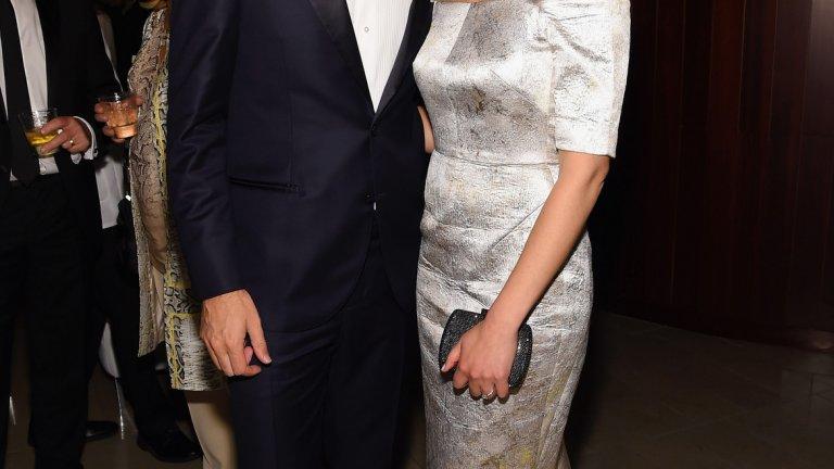 Кевин Систорм - съосновател на Instagram и Никол - дългогодишна половинка, а вече и законна негова съпруга.