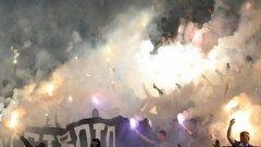 В българския футбол по-голямото шоу по-често е на трибуните