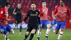 Барселона беше на секунди от отпадане, но оцеля в голов трилър