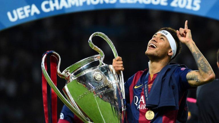 1. Неймар – от Сантос в Барселона – 88,2 млн. евро, лятото на 2013 г.