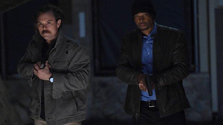 """Lethal Weapon Сезон: 3 Телевизия: Fox Премиера: 25 септември Бележка: Актьорът Шон Уилям Скот (Стифлър от """"Американски пай"""") ще замени Клейн Кроуфор (Ригс, вляво на снимката), който беше уволнен от сериала."""
