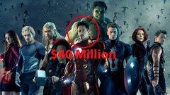 """Робърт Дауни-мл. - повече от всички в """"Отмъстителите: Ерата на Ултрон""""  Изригването на филмовата вселена на Marvel направи Робърт Дауни-мл. най-високоплатения актьор в Холивуд, изкарващ значително повече от всички останали супергерои от екипа на Отмъстителите. За """"Ерата на Ултрон"""" Железния човек получи $40 млн., а следваща по заплащане е Скарлет Йохансон като Черната вдовица с $20 млн. За сравнение, Крис Еванс (Капитан Америка) е взел малко под $7 млн., а Марк Ръфало (Хълк) – едва $2.8 млн."""