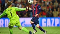 Вторият гол на Лионел Меси срещу Байерн (Мюнхен) в полуфиналите на Шампионската лига бе определен за най-красив за миналия сезон