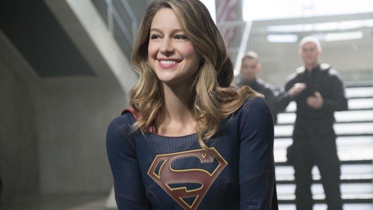 """Беноа е популярна с ролята си в сериала """"Супергърл"""" на CW."""