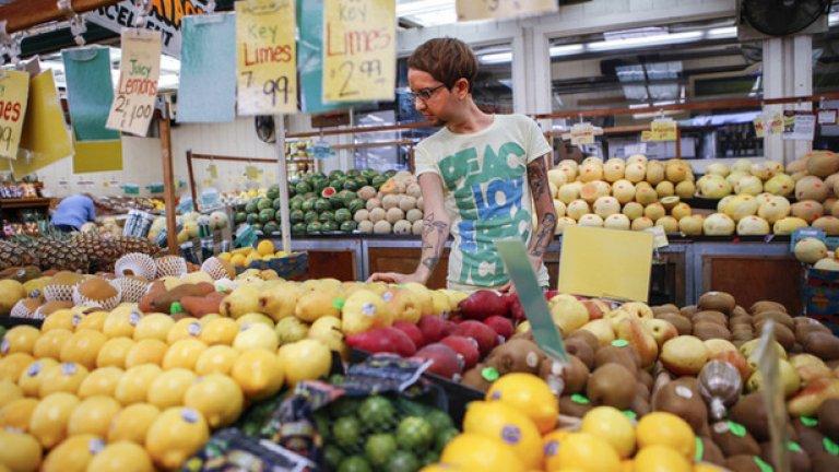 Джони Ригини, 32-годишният веган, страдащ от орторексия, вече се чувства по-добре и може да пазарува продукти, които са откъснати преди повече от минути