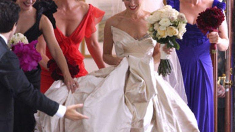 """Сара Джесика Паркър в първата част на филма """"Сексът и градът"""""""