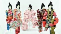 Comme des Garcons прави дебюта си през 1984 г. и оттогава непрекъснато провокира общите представи за цветовете, формите и нормите за модата