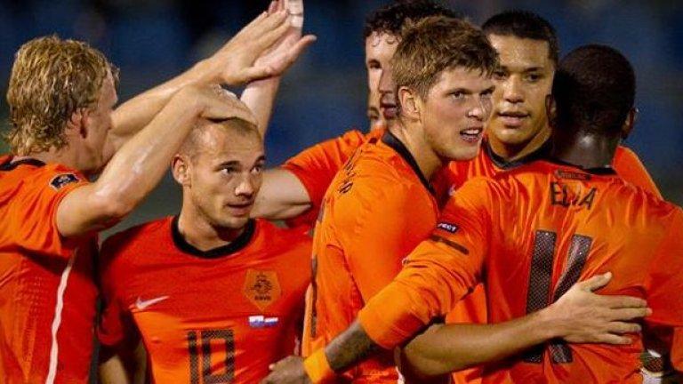 Холандия победи с 11:0 Сан Марино в европейска квалификация