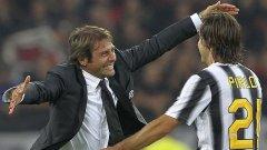 Пирло може да стане помощник на Конте, ако мениджърът на Челси се завърне начело на Италия.