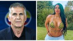 Селекционерът на Колумбия Карлош Кейрош бе хванат от включен микрофон с любопитен коментар около скандала с неговия футболист - Себастиан Вия, който е обвинен в домашно насилие от приятелката си Даниела Кортес