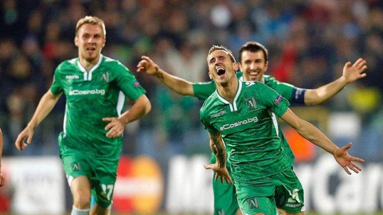 Лудогорец игра два пъти в групите на Шампионската лига и записа една победа, но достатъчно ли е това, за да бъде считан за най-успешен български клуб в Европа?