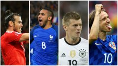 20-те най-добри футболисти на Евро 2016