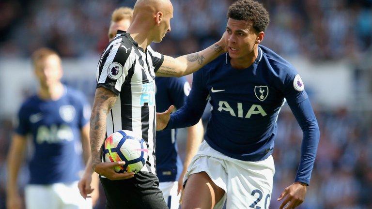 """Деле Али, Хари Кейн и Хари Уингс (Тотнъм) Очаква се полузащитникът да се завърне за сблъсъка с Арсенал следващия уикенд, след като получи лека травма при победата с 3:1 над Реал Мадрид в Шампионската лига и пропусна успеха с 1:0 над Кристъл Палас в последния кръг. Хари Кейн и Хари Уингс отказаха повиквателните за контролите на Англия с Германия и Бразилия, но се очаква и Кейн да бъде готов за дербито с """"артилеристите"""" на """"Емирейтс"""" на 18-и."""