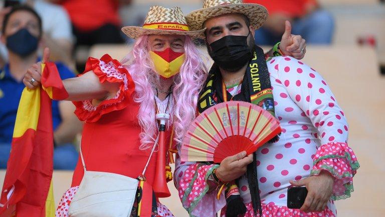 Най-култовите и цветни хора по стадионите и фен зоните от началото на Евро 2020