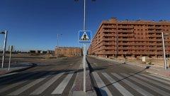 """Сесена е предградие на испанската столица Мадрид - построено """"до ключ"""" точно в навечерието на икономическата криза. В момента бетонираният мегаполис е """"град-призрак""""."""