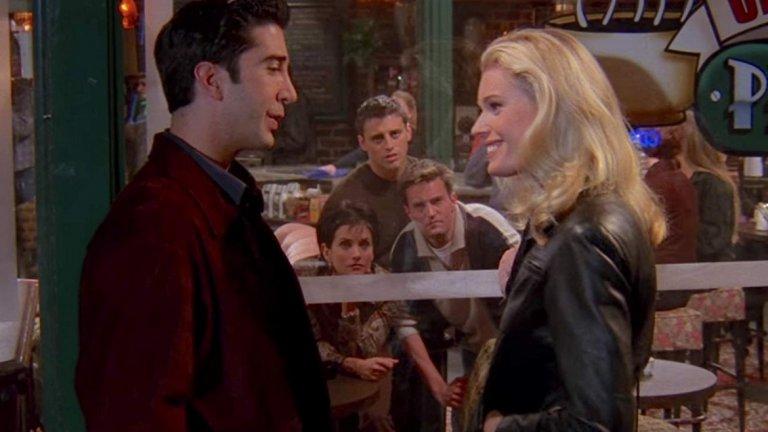 """Ребека има роля и в четвърти сезон на """"Приятели"""". В епизода The One with the Dirty Girl играе новото, почти перфектно гадже на Рос. Нещата обаче се променят, когато той вижда нейния мръсен апартамент... Самата Ромейн признава в интервю, че като дете е била доста разхвърляна, но сега това се е променило."""