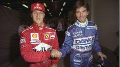 1997 - враждата между Шумахер и Хил е минало, едва ли е нормално да очакваме, че тя ще се съживи през 2010