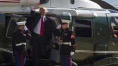 Американският президент не се ангажира с договореностите от Париж, но колегите му лидери смятат, че можеше да бъде и много по-зле